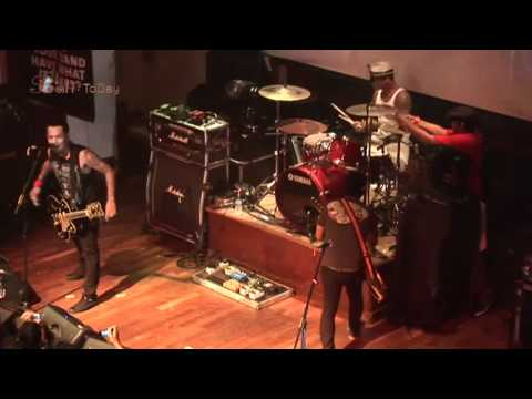Superman Is Dead Live Performance; Hard Rock Rising 2012 at Hard Rock ...