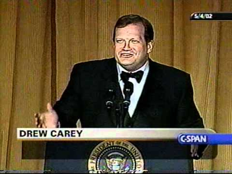 Drew Carey 2002 White House Correspondents' Dinner