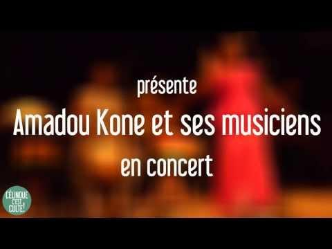 Amadou Kone et ses musiciens en concert