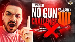THE FIRST EVER BLACK OPS 4 NO GUN CHALLENGE - EPIC COMEBACK!!! (COD: Black Ops 4)