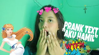 Video PRANK TEXT HAMIL 2 BULAN MAU ABORSI! DEG-DEGAN! MP3, 3GP, MP4, WEBM, AVI, FLV Januari 2019