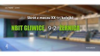[GLF] Nbit Gliwice vs Żernica (20 kolejka) - skrót