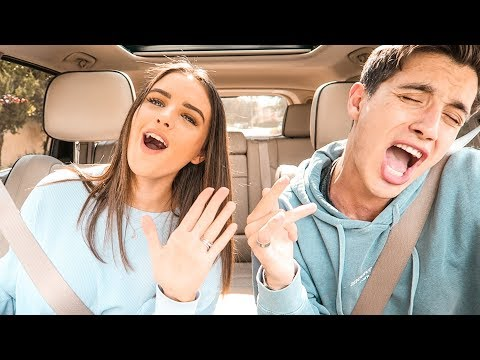 HUSBAND & WIFE DISNEY CARPOOL KARAOKE