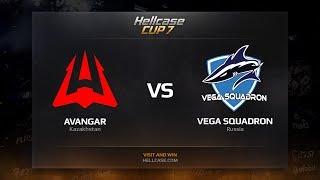 Vega Squadron vs AVANGAR, map 1 mirage, Hellcase Cup 7