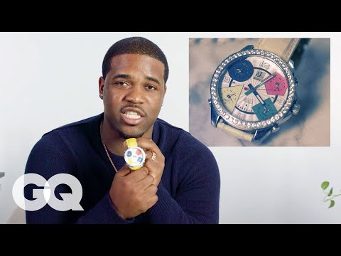 A$AP Ferg Shows Off His Insane Jewelry Collection | GQ