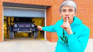 HACKED Spy Wagon Bus Hiding Overnight in TOP SECRET Garage!! (Escaping GAME MASTER Tracking Device)