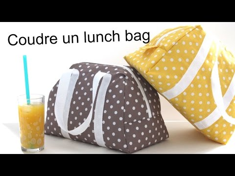 Coudre le lunch bag Elsa / Sew a lunch bag Elsa
