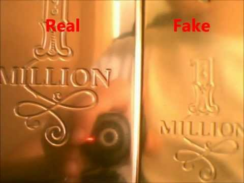 How to spot a fake One Million by Paco Rabanne