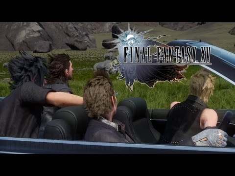 Final Fantasy XV – (PS4) Open World Gameplay