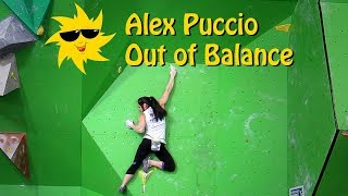 Alex Puccio, Out of Balance | Sunday Sends by OnBouldering