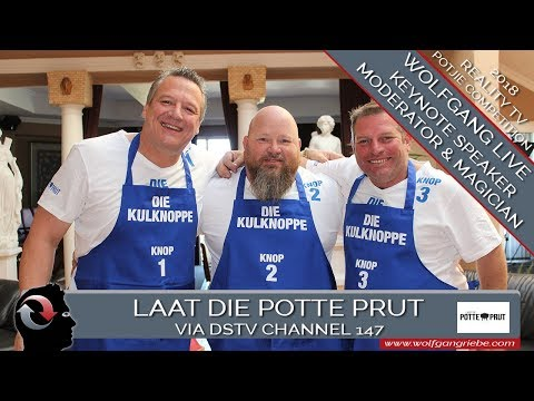 Meetings & Events: Laat Die Potte Prut. Via Reality TV Potje Cooking Competition