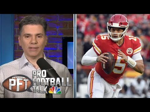 Video: Can Patrick Mahomes step up for AFC title vs. New England Patriots? | Pro Football Talk | NBC Sports