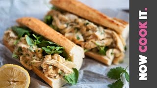 Pulled Chicken Sandwich Recipe | Now Cook It by SORTEDfood