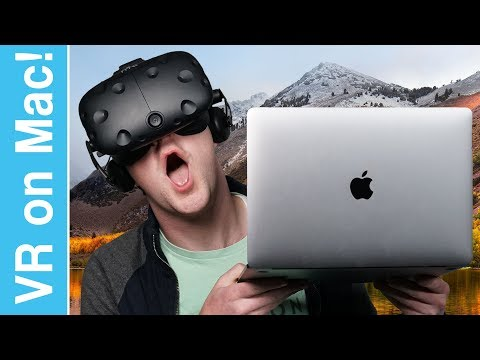 Virtual Reality on a Mac!