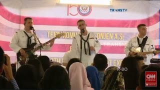 Video Konser US Navy Band, Menyanyikan Lagu Goyang Dumang MP3, 3GP, MP4, WEBM, AVI, FLV Juli 2018