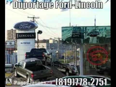 Duportage Ford-Lincoln Ltée - Gatineau