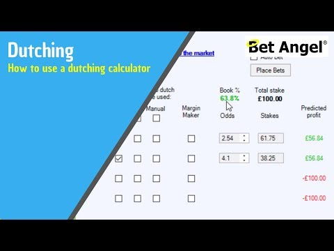 Peter Webb – Tips on Dutching – Horse Racing