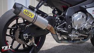 8. Complete Soundcheck : 2015+ Yamaha YZF-R1 Arrow Exhaust lineup by TST Industries