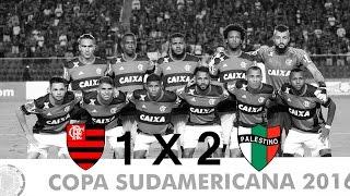 Resenha de FLAMENGO 1 X 2 Palestino (jogo de volta) pelas oitavas de final da Copa Sul-Americana 2016... #SRN