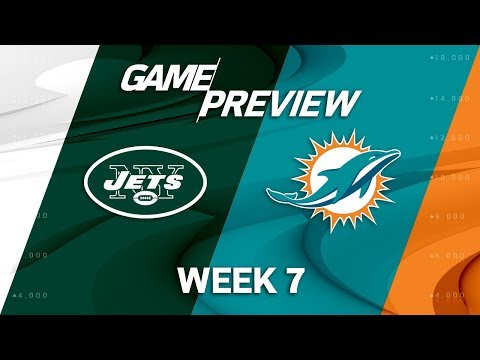 Video: New York Jets vs. Miami Dolphins | Week 7 Game Preview | NFL