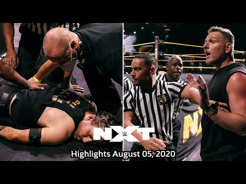 Tension between Adam Cole and Pat McAfee -  WWE NXT Highlights, Aug 05, 2020