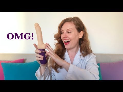 A Thrusting, Heating and Vibrating Realistic Dildo from from Erocome - Sex Toy Review