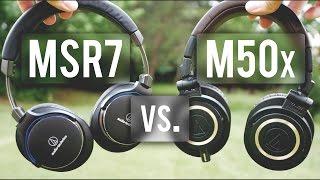 Video Audio Technica MSR7 Review: Way better than M50X?! MP3, 3GP, MP4, WEBM, AVI, FLV Agustus 2018