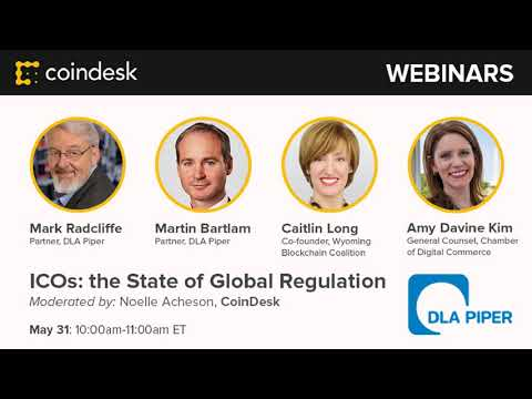 ICOs and Global Regulations - Webinar by CoinDesk video