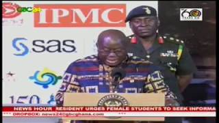 President Akufo-Addo says his government will run an open system that will make information on government business available to the public. Speaking at the Africa Open Data Conference in Accra, the President said his government will soon establish an Open Data Institute to promote Ghana's open data initiative.