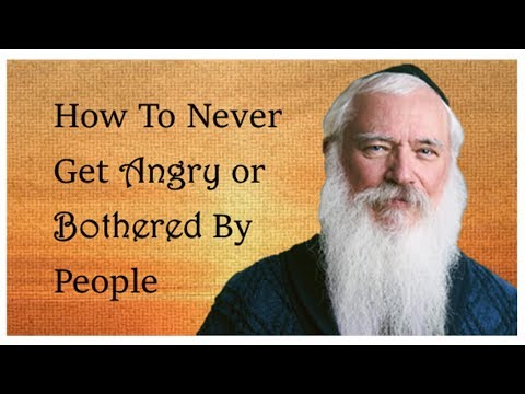How To Never Get Angry At People: The Internet's Favorite Rabbi Shares Life-Changing Wisdom
