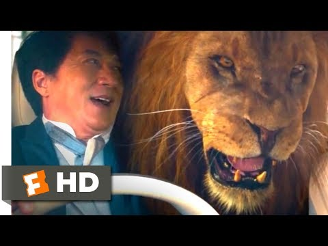 Kung Fu Yoga (2017) - Lion Car Chase Scene (5/10) | Movieclips