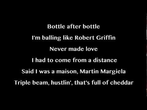Cassie Feat Rick Ross - Numb (Lyrics On Screen)