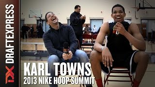 2013 Karl Towns Interview - Nike Hoop Summit - DraftExpress