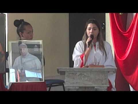 (VÍDEO Nº100) SALMO CANTADO POR SARA OLIVEIRA - PARÓQUIA DE FÁTIMA 03 07 2008