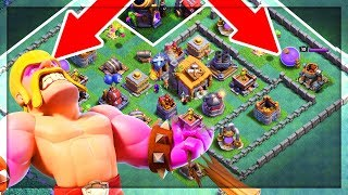 Video BACK DOOR Barbarians? Clash of Clans Builder Hall Strategy Taking Players by SURPRISE! MP3, 3GP, MP4, WEBM, AVI, FLV Agustus 2017