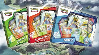 SWORD AND SHIELD POKEMON CARDS! Opening ALL Galar Colelection Boxes! by The Pokémon Evolutionaries