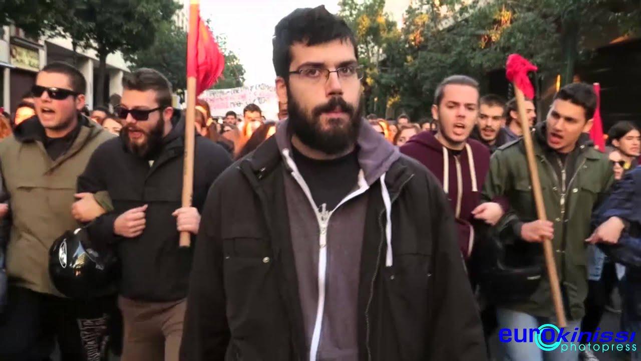 Πορεία για την επέτειο από τη δολοφονία του Αλ. Γρηγορόπουλου