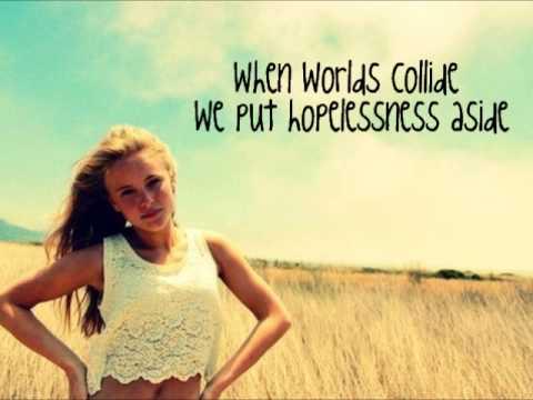 Tekst piosenki Zara Larsson - When Worlds Collide po polsku