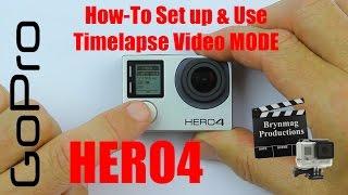 Video GoPro HERO4 - Version 2.00 Firmware - How to set up & Use Timelapse Video Mode MP3, 3GP, MP4, WEBM, AVI, FLV September 2018