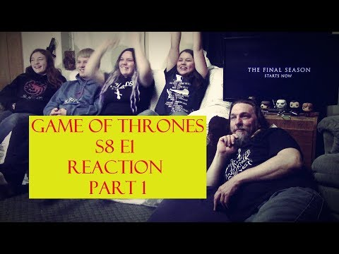 "Game of Thrones S8 E2 Reaction Part 1 ""A Knight of the Seven Kingdoms"""