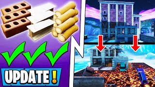 """*NEW* Fortnite Update!   Official Revert, Tilted & Retail Destroyed, """"Snow"""" Event!"""