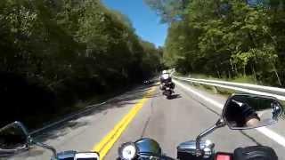 5. Yamaha Raider 1900 motorcycle ride