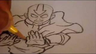 Download Lagu Let's Draw Avatar Aang! Mp3