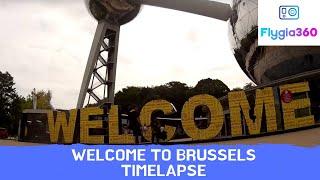 Timelapse in Brussels with SJCAM SJ4000 Wifi