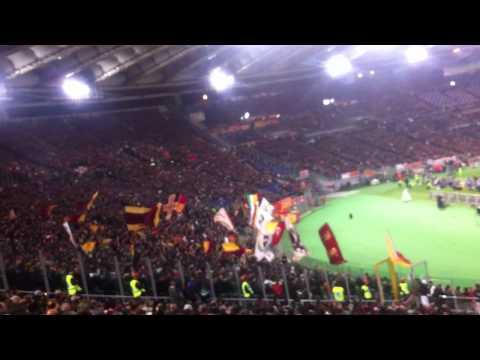 roma-juventus 1-1 - nuovo coro curva sud roma