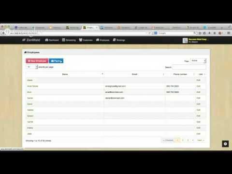 ZenMaid Employee Revenue Sharing