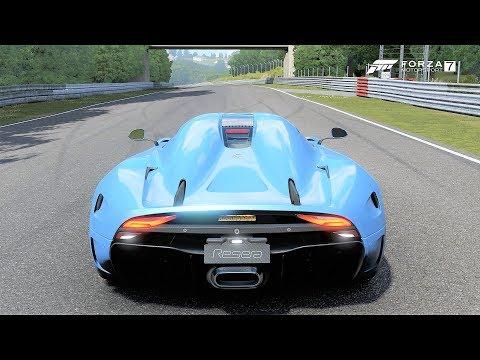 Forza 7 - Koenigsegg Regera Nurburgring gameplay