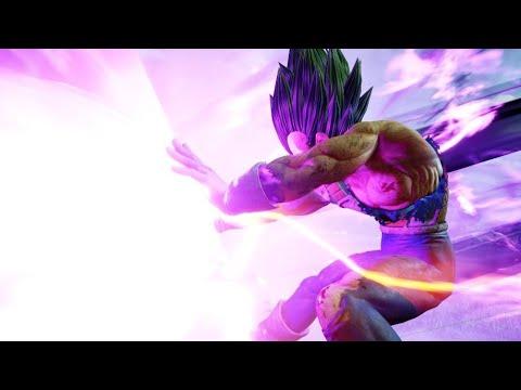 All new Vegeta Gameplay Jump Force!! (видео)