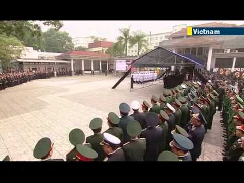 Vietnam holds state funeral for General Giap: military leader credited with defeating France and US