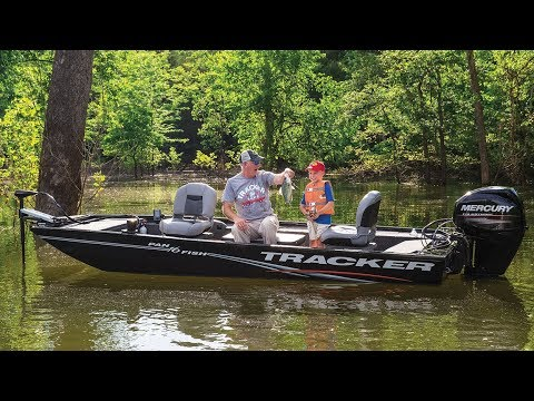 TRACKER Boats: 2018 Panfish 16 Aluminum Fishing Boat